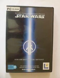 Jeu PC Star Wars Jedi Knight Outcast