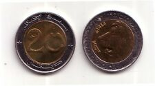 Algeria 20 dinari  2004  FDC UNC Leone  KM 125
