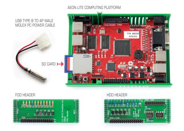 DREM MFM / RLL SSD (HDD and FDD Emulator) MFM RLL Hard Drive and Floppy Emulator