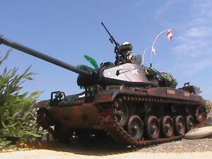 Playmobil Personnalisé Original Tank M41 (vietnam-1965) Ref-001