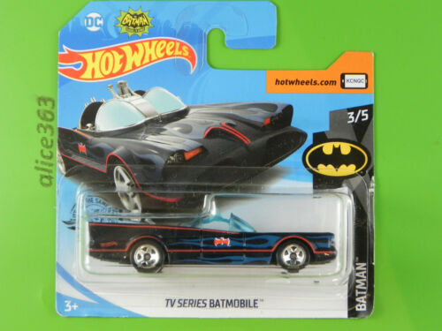 118-nuevo en caja original Hot Wheels 2019-TV series Batmobile-Batman