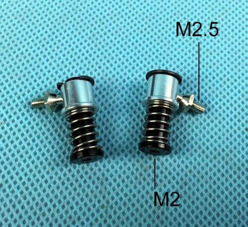 2 PIECES M2 to M2.5 quick release throttle linkage head Ball end FIT Rc Boat
