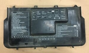audi 80 90 b3 b4 coupe 1989 1996 fusebox cover cap trim rh ebay co uk  audi 80 b4 2.0 fuse box