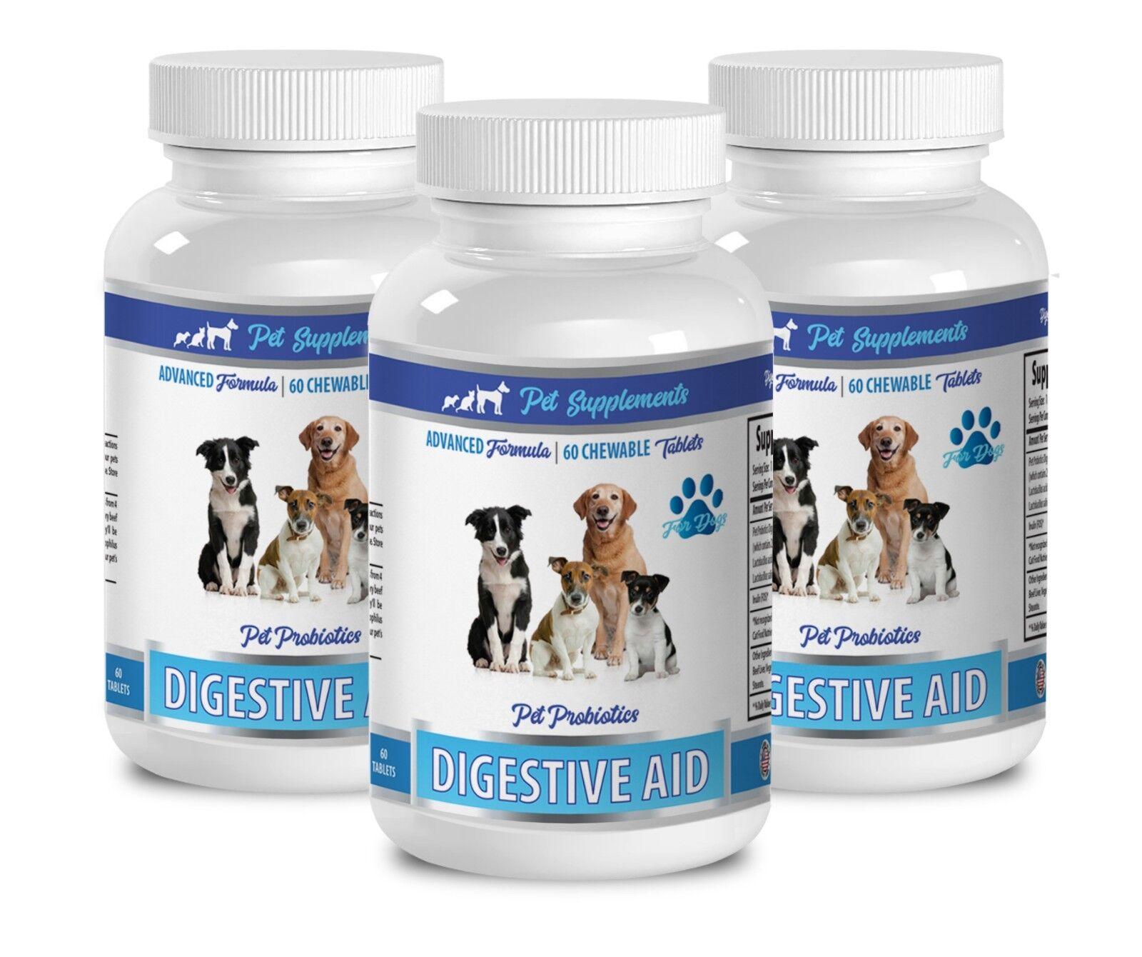 Digestive dog supplement - DOG DIGESTIVE ENZYMES AID 3B - bifidobacterium longum