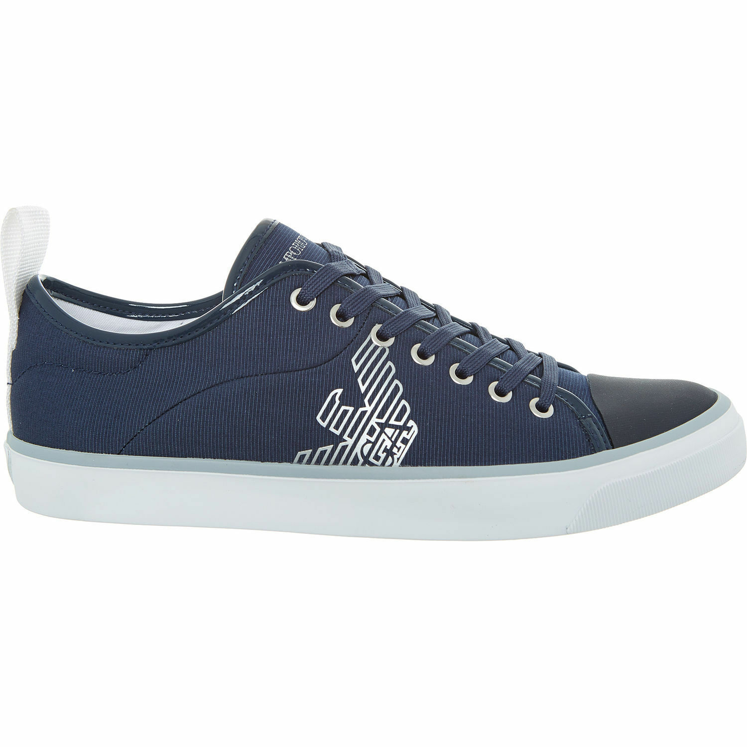 6e87530f1d Genuine EMPORIO Women's Navy Logo UK 3 5 ARMANI Trainers nzoaxk3554-Women's  Athletic Shoes
