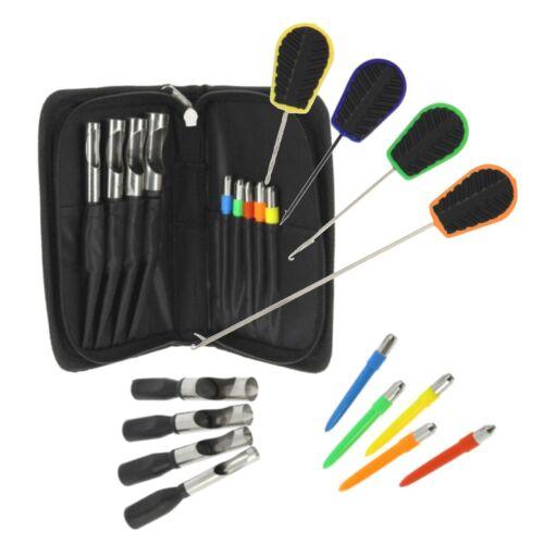 Appâtage aiguille et le Pain de viande Punch 9pc Set Carp Coarse Match Pêche Set