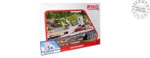 PIKO-61923-set-edifici-stazione-rimessa-banchina-casa-e-posto-blocco-5-pez