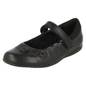 Clarks 'tanz Crush' Mädchen Leder Mary Jane Schule Schuhe F Passform Preisnachlass
