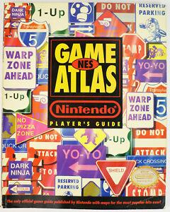 NES-Game-Atlas-1991-Official-Nintendo-Player-039-s-Guide-176-Pgs-Paperback