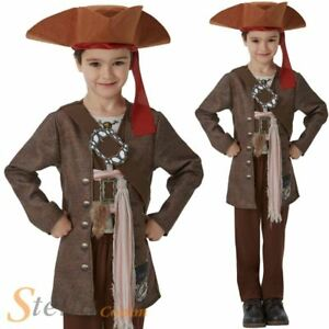 Image is loading Boys-Deluxe-Jack-Sparrow-Costume-Official-Pirates-Of-