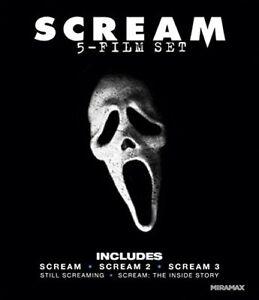 Scream ( Blue ray 5 film set) New, Free shipping