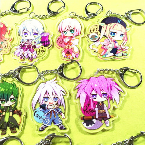 Tales of Series Abyss Xillia Destiny Lion Magnus Zelos Strap Keychain Charm Be