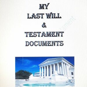 Last-Will-amp-Testament-Forms-Kit-Any-State-In-USA