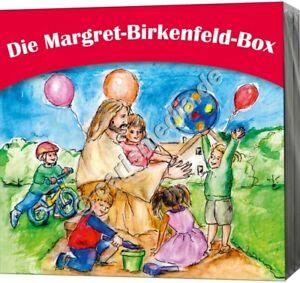 CD-Set-DIE-MARGRET-BIRKENFELD-BOX-4-drei-CDs-Kinderlieder-amp-Hoerspiele-CM