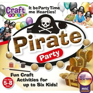 Image Is Loading Pirate Party Craft Kit Birthday Entertainment Fun Activities