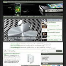 Established Apple Iphone Business Website For Sale! Best Way Earn Money At Home!