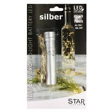 Korken mit LED Lichterkette TIMER Flaschenbeleuchtung Flaschenlicht Batterie