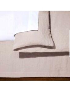 Fieldcrest-Blush-Linen-Bed-Skirt-California-King-15-034-Drop-84-034-L-X-72-034-NEW