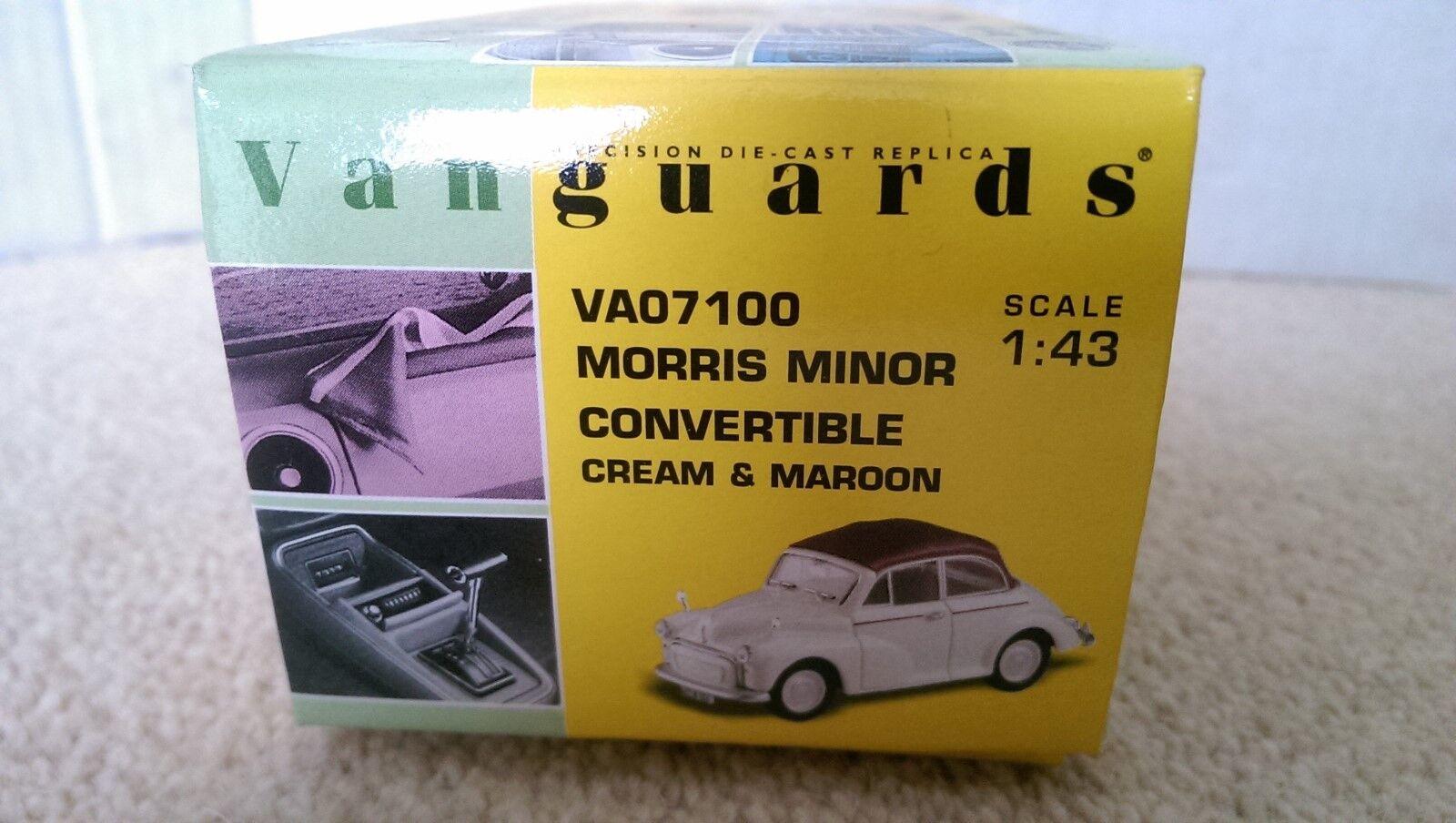 Corgi Vanguards VA07100 Morris Minor Converdeible Converdeible Converdeible Ltd Edición No. 1738 de 6500 0ec6cb