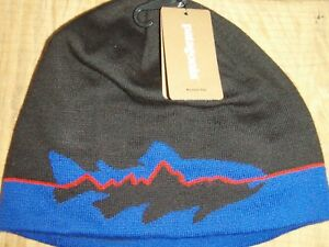 Image is loading Patagonia-Fitz-Trout-Beanie-Hat 290bb6102f0b