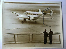 photo originale avion Beechcraft Super H18  tirage d'époque
