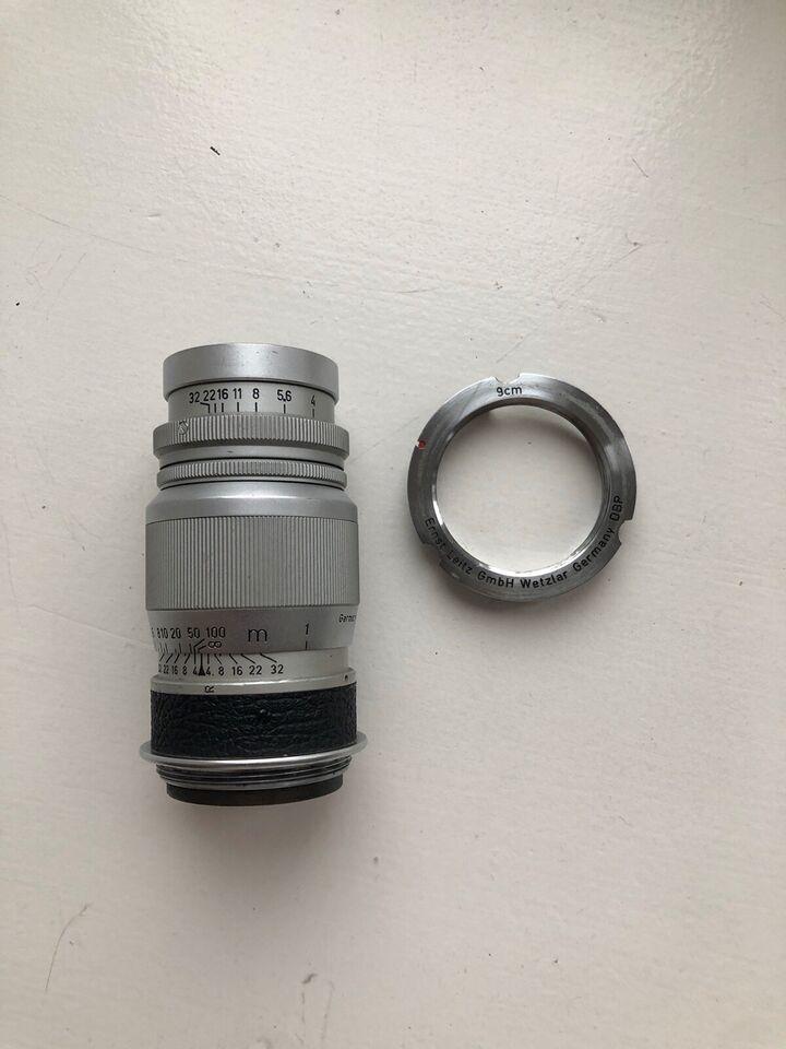 Tele, Leica, Elmar 90mm f4 LTM