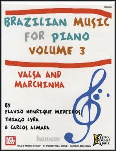 Musique-bresilienne-pour-piano-Volume-3-persistant-amp-Marchinha-Sheet-Music-Book