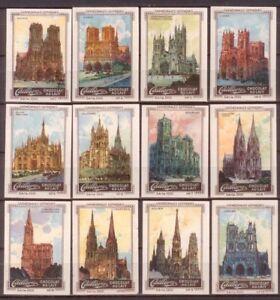 12-Marken-Cailler-039-s-Chocolat-au-Lait-Gotische-Kathedralen-u-a-Reims-Paris-Koeln