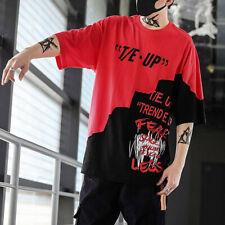 8d82eaada item 2 Men Unisex Summer Streetwear Casual Hip-Hop Print Letter Tops  T-Shirts Pullover -Men Unisex Summer Streetwear Casual Hip-Hop Print Letter  Tops ...