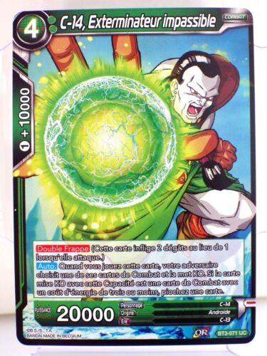 CARTE DBS BT3-071 UC Les mondes croisés Dragon Ball Super Card Game