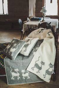 Blanket Throw Bed Sofa Fleece Cozy Plaid Soft Warm Wool 130x200cm Sheep Brown