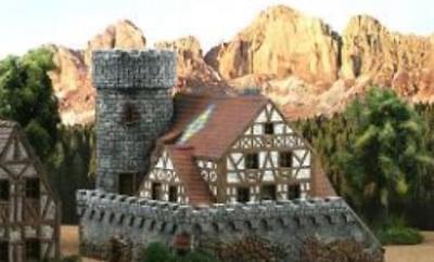 New Ziterdes 25mm Unpainted Terrain Watchtower Dragonstone Dwarven Forge D&D