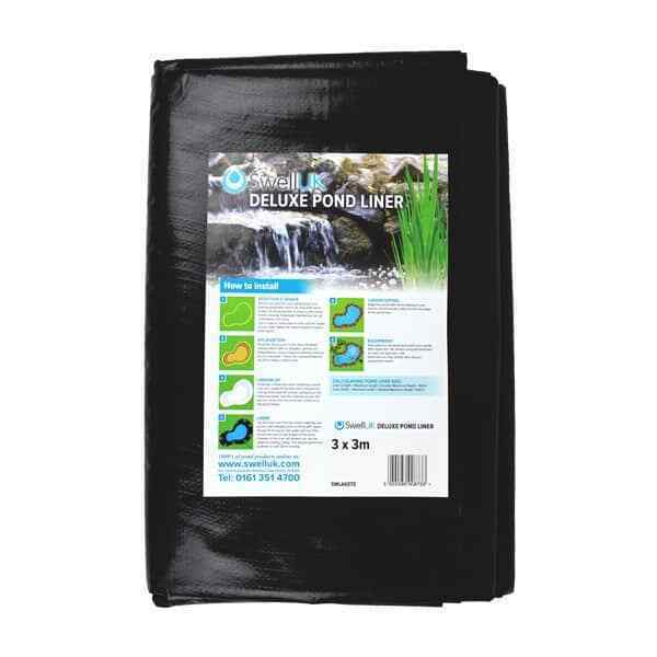 Deluxe Water Garden Pond Liner, Great Value Year Round 14MIL Liner 13'1  x 16'4