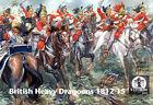 Waterloo 1815 - British Heavy Dragoons 1812-15 - 1:72