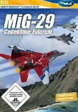 MIG 29 Codename Fulcrum ADDON für Microsoft Flight Simulator X 2004 NEU
