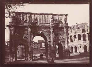 Roma Roma Italia Foto Amateur Viaggio IN Italia 1898 Vintage Citrate