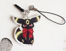Pokémon - Strap Noctali Umbreon Eevee Clear acrylic charms Keychain goodies