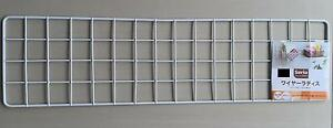 Japan-Import-Kitchen-Garden-wire-net-hanging-rack-Mesh-Memo-Board-wall-mount
