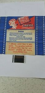 """A & BC Gum  1958- Real Colour Films """"White boat on Ocean""""  Slide only"""