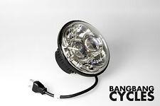 LED SCHEINWERFER Chrom 5,75 Zoll Harley Davidson Sportster FXD Dyna Street Bob