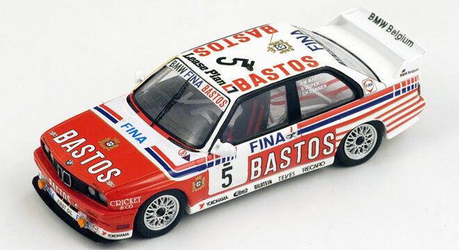 ahorrar en el despacho 1 43 BMW M3 n°5 Spa 1992 1 43 • • • SPARK SB069  el estilo clásico