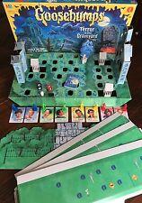 Goosebumps Terror in the Graveyard Board Game Milton Bradley 1995 Complete 90's
