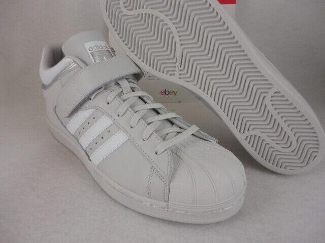 Adidas Pro Shell, Grey   White   Metallic Silver, BY4382, Size 10.5