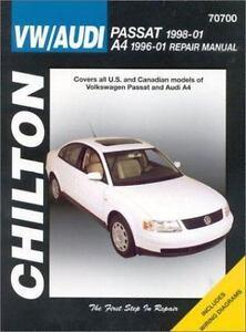 VW Passat 1998-2001 & Audi A4 1996- 9781563924446 | eBay