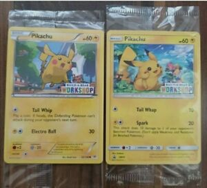 Pokemon-Cards-BUILD-A-BEAR-Promos-Pikachu-Set-SM86-and-20-108-Roaring-Skies