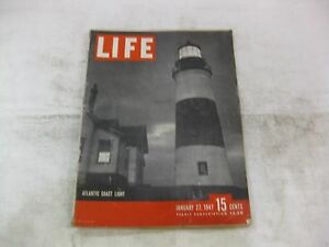 magazine cover template publisher - life magazine january 27th 1947 atlantic coast light cover