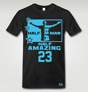034-HALF-MAN-HALF-AMAZING-034-Stars-T-Shirt-to-Match-Retro-12-034-GAMMA-BLUE-034