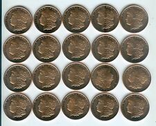 """/""""YOU PICK 5 ROLLS of Copper Rounds/"""" 100 1oz .999 Copper Rounds READ BELOW"""