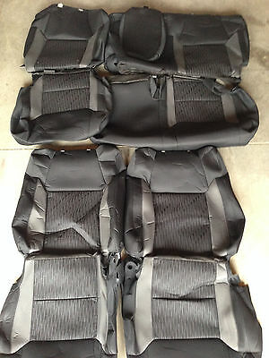 2014-2016 Toyota Tundra Crewmax SR5/ TRD PRO OEM Factory cloth seat covers