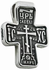 Russisch-Greek Orthodoxe 925 Silber Kreuz  JESUS CHRISTUS